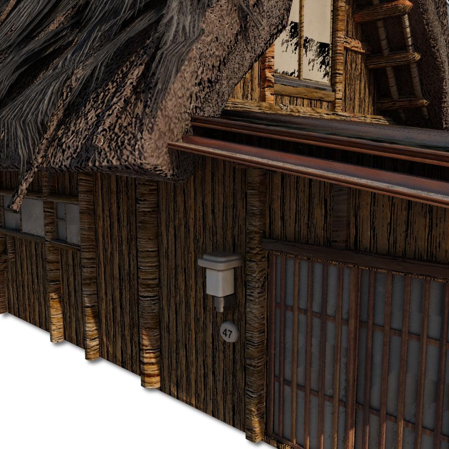 Shirakawago_Village_Set_House_3_and_4_15