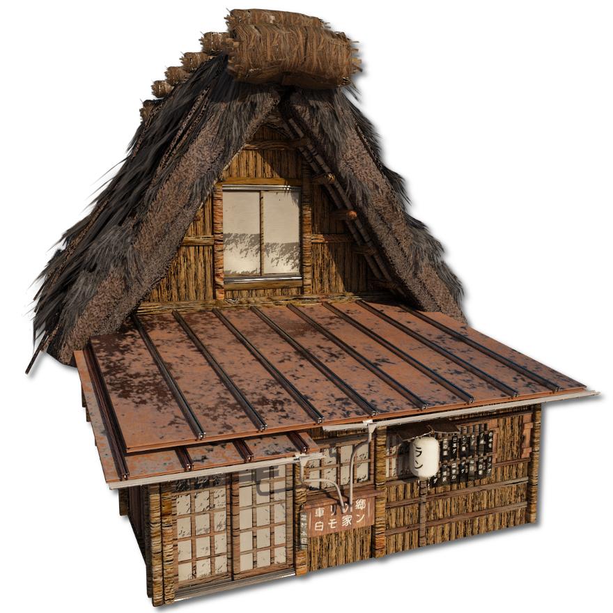 Shirakawago_Village_Set_House_3_and_4_2