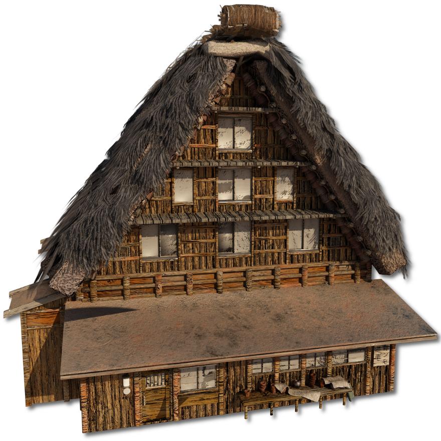 Shirakawago_Village_Set_House_4_2